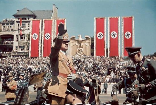 Foto del fotógrafo personal de Hitler, comprada por LIFE. 1939.