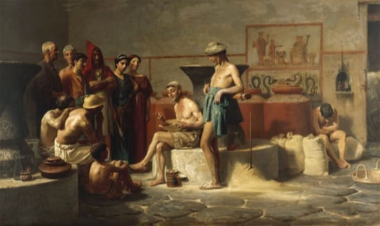 Chistes de la Roma antigua o, humor clásico