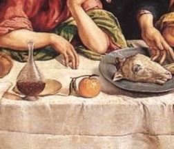El error de la Última Cena y las naranjas -- Detalle