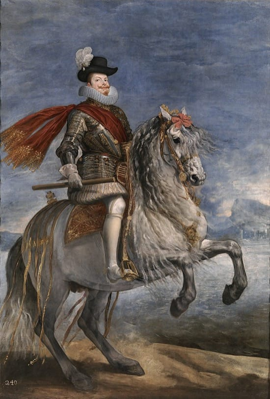 Felipe III con la Perla Peregrina