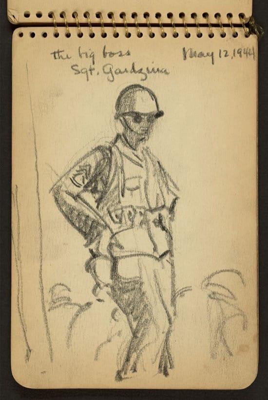 El gran jefe, el sargento Gardzina