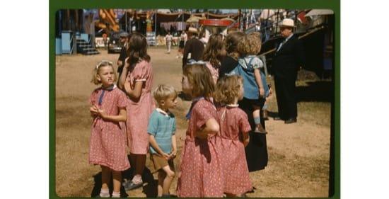 Feria del estado de Vermont, en 1941. Jack Delano