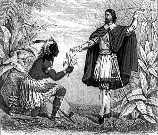 Rodrigo de Jerez, el primer hombre que fumó en Europa, y lo pagó caro