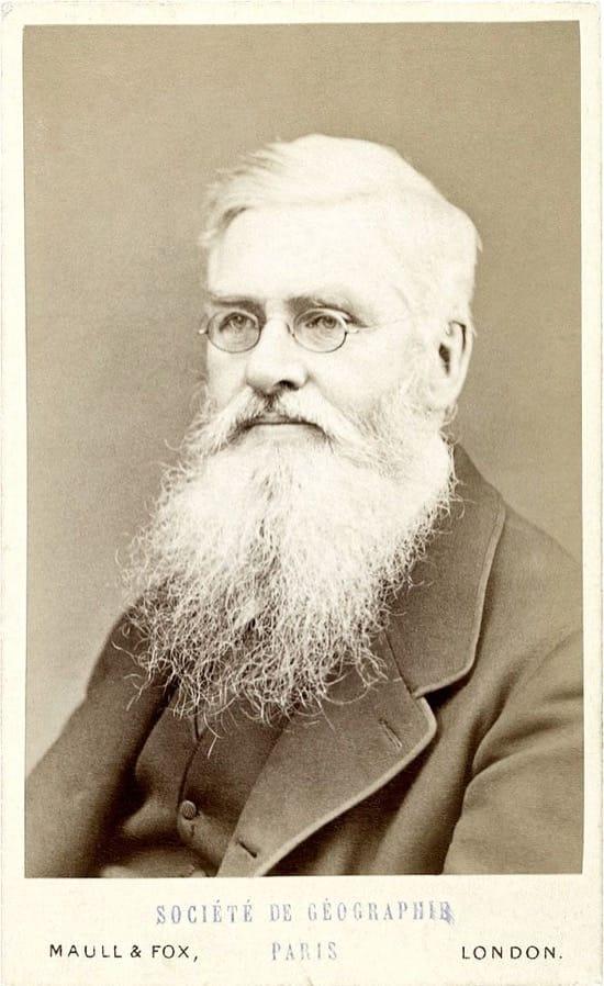 Alfred Wallace, apostó contra que la Tierra es plana, ganó pero acabó perdiendo