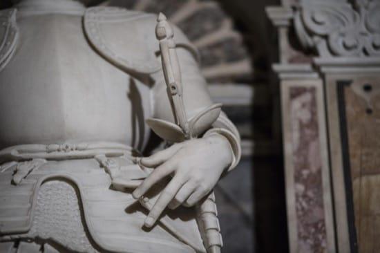 Monumento a Giovan Francesco di Sangro, Primer Príncipe de Sansevero, de Giacomo Lazzari