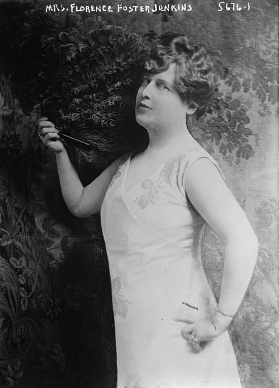 Florence Foster Jenkins la cantante de ópera que era tan mala que triunfó
