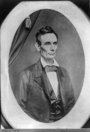 Lincoln sin barba