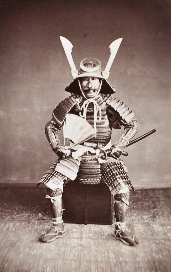 Fotos históricas de samuráis reales 1