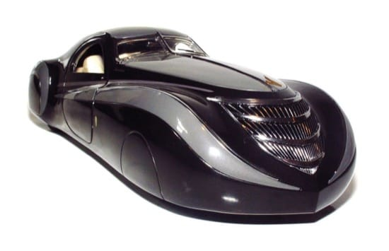 1939 Duesenberg Coupe Simone Midnight Ghost