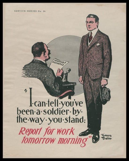Carteles para Veteranos Primera Guerra Mundial 1