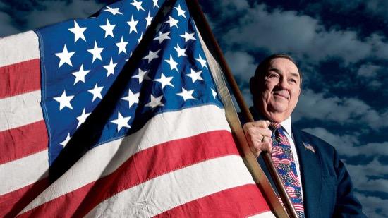 La bandera de EEUU es un trabajo de colegio de un chico de 17 años