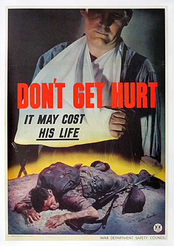Don't get hurt