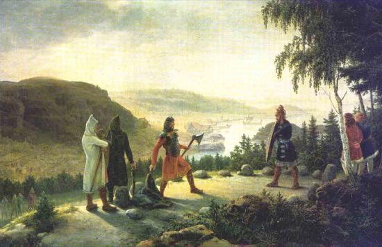 Las Holmgang, la justicia vikinga que era una forma de ordalía