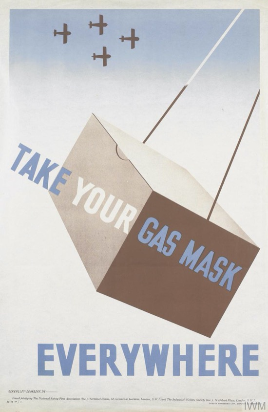 Take your gas mask