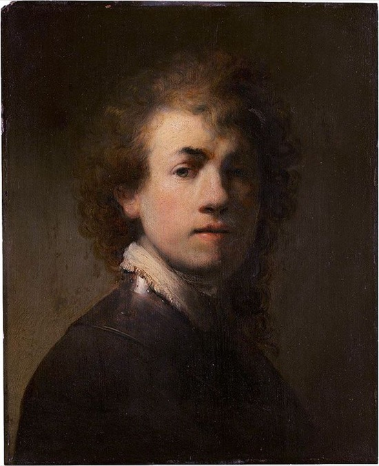 Rembrandt Autorretrato 1629
