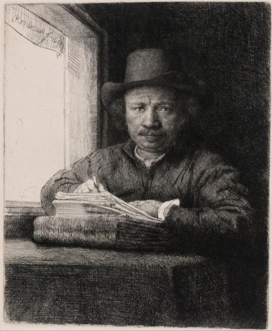 Rembrandt Autorretrato 1648