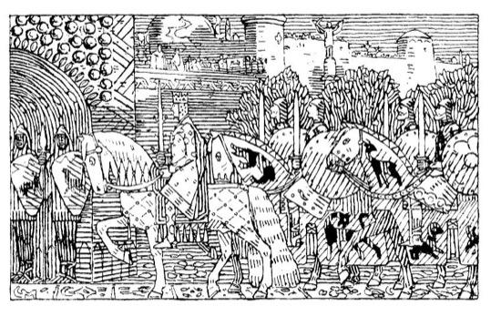 Sigurd I de Noruega, el primer rey en participar en las cruzadas