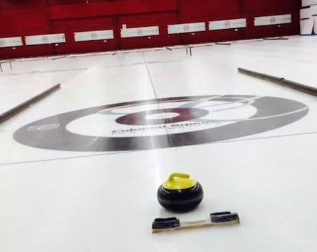 The Nutana Club in Saskatoon will play host to the country's best mixed doubles curling teams. (Photo, Courtesy Nutana Curling Club)