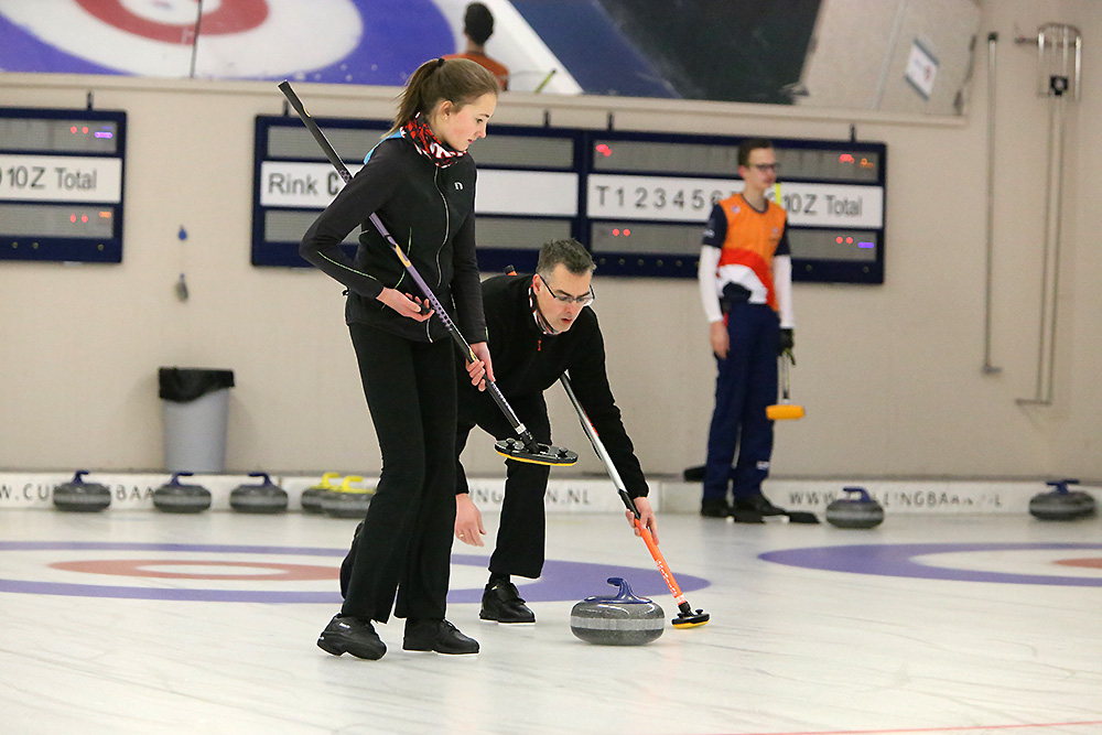 Curling mixed doubles Curlingbaan Zoetermeer