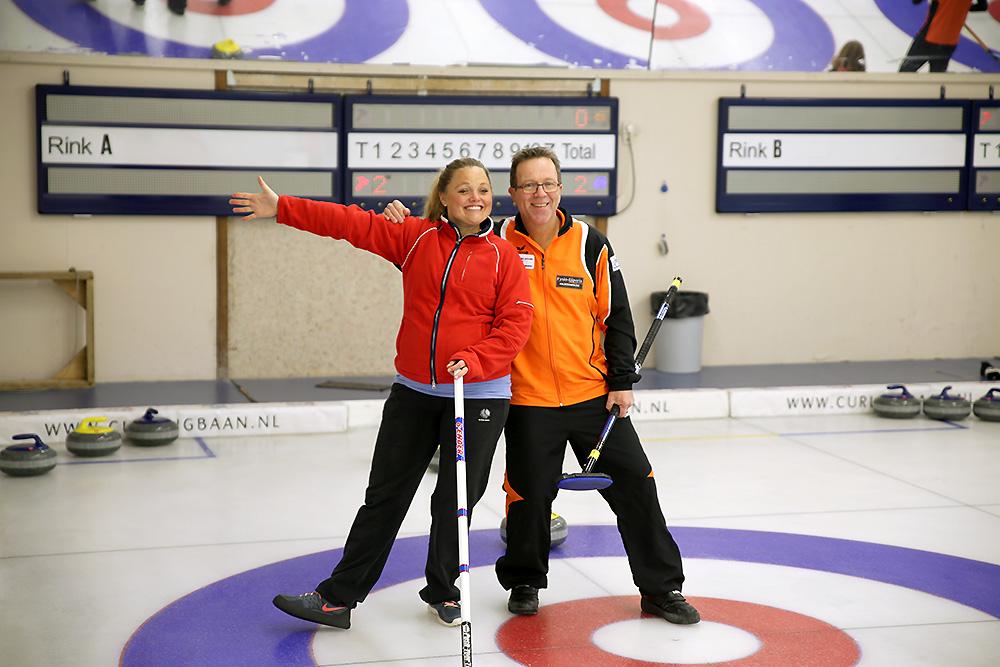 Curlingclinic skip cadeaubon Curlingbaan Zoetermeer