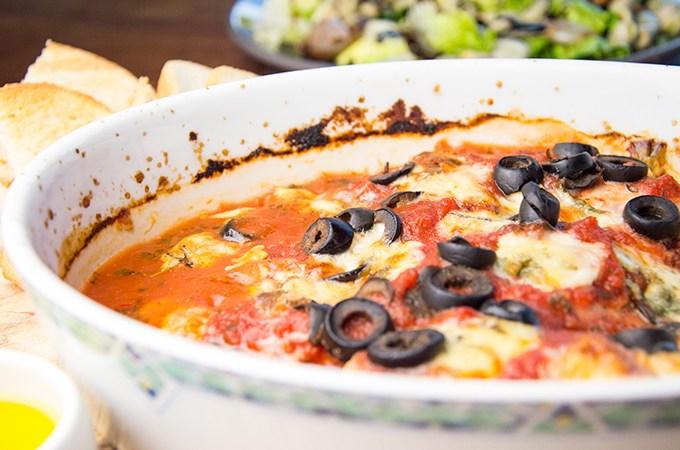 Kiprecepten Kip in gorgonzola met tomatensaus