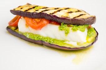 Recept Aubergine sandwich