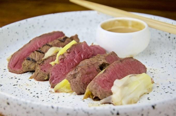 Recept Biefstuk met soja mayonaise