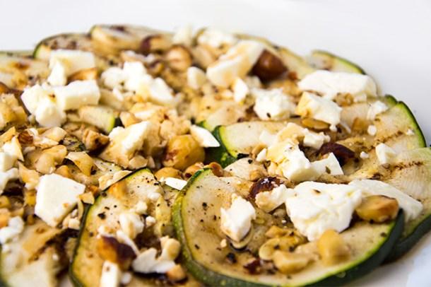 Recept Courgette salade met feta