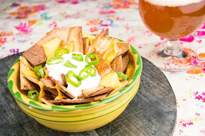 Recept Gegratineerde tortillachips