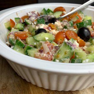 Recept Griekse salade