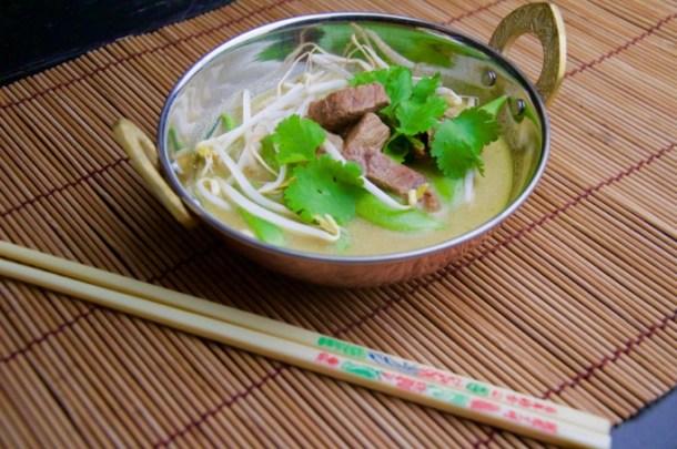 Recept Groene curry stoofpot