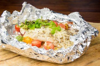 Recept Italiaans vispakketje uit de oven