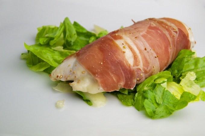 Recept Kip met gorgonzola en parmaham