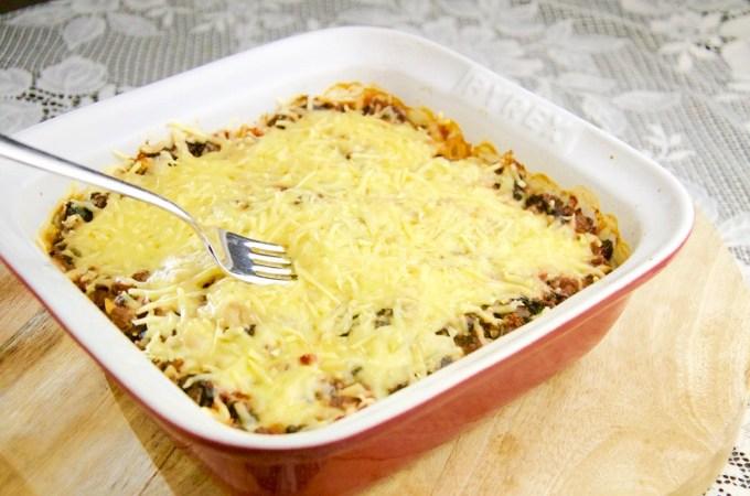 Recept Koolhydraatarme lasagne met pompoen