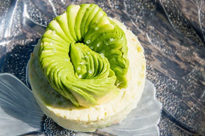 Recept Krabtartaar met avocado en appel