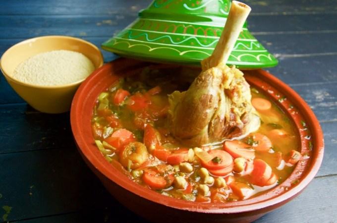 Recept Lamstajine