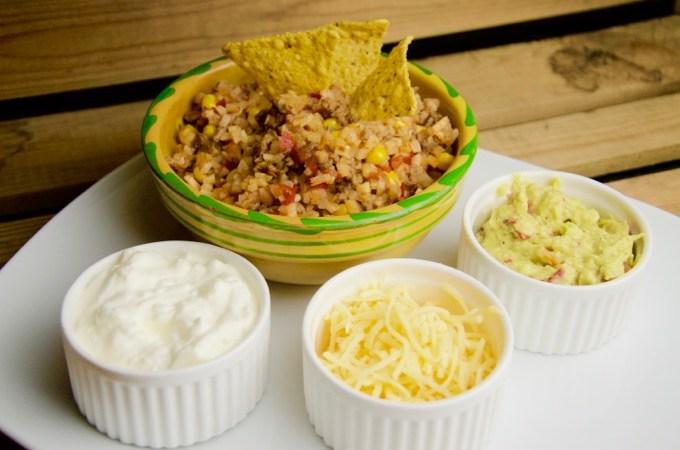 Recept Mexicaans gehaktgerecht met bloemkoolrijst