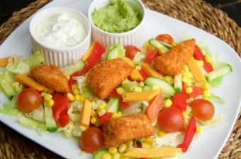 Recept Mexicaanse krokante kip salade