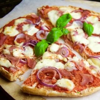 Recept Pizza van Turks brood