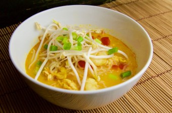 Recept Rode curry soep