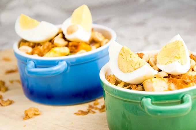 Recept Surinaams kippannetje