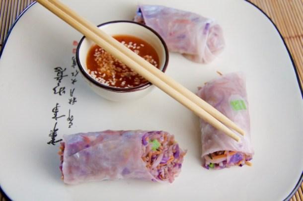 Recept Vietnamese springrolls