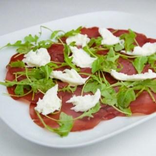 Recept bresaola met mozzarella