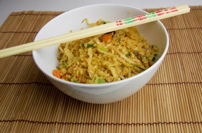 Recept nasi van bloemkoolrijst