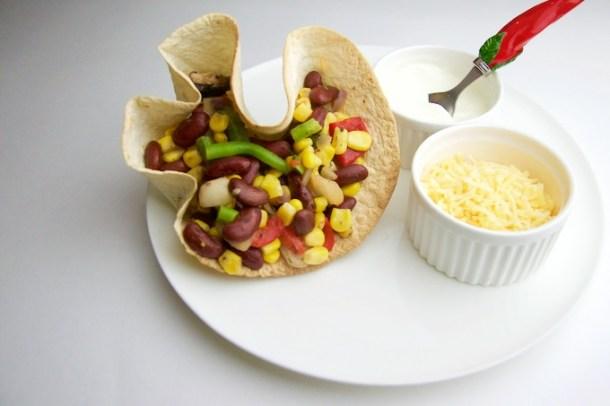 Recept tortillabowl met groenten