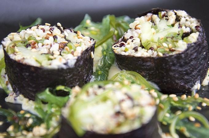 Sushi van quinoa