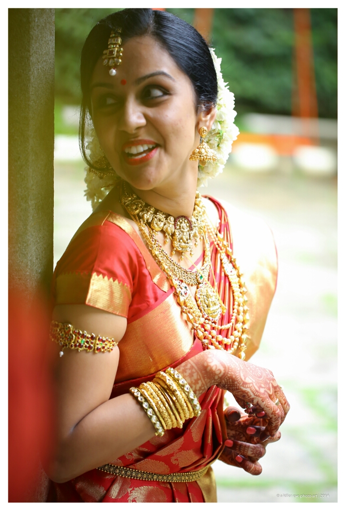 My Bridal Ensemble Kerala Hindu South Indian Style