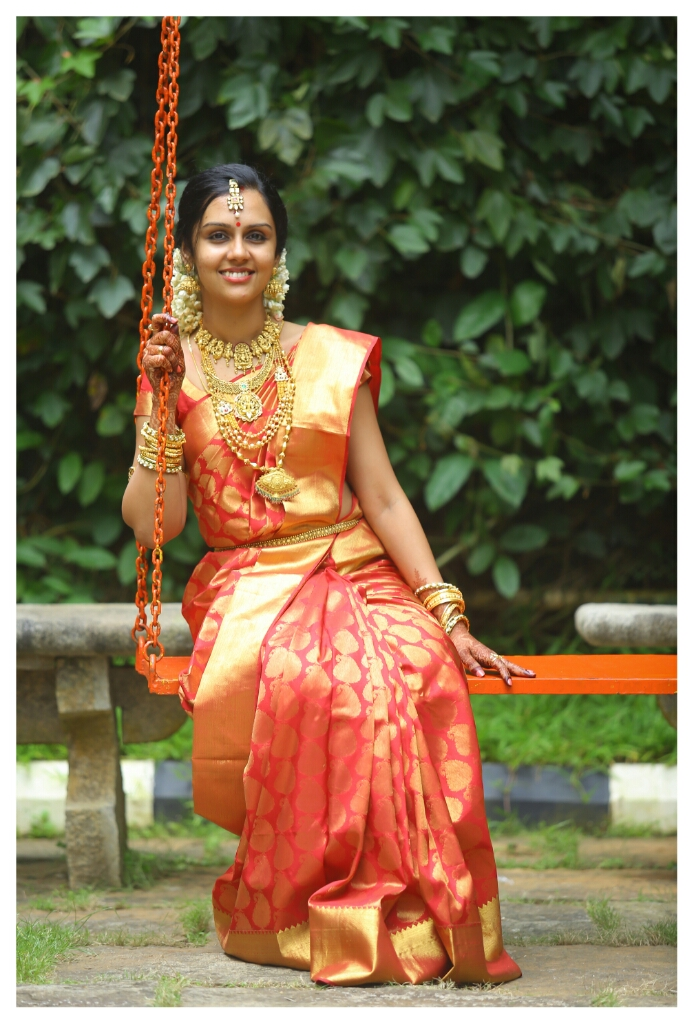 My Bridal ensemble - Kerala Hindu / South Indian style | CurlsandBeautyDiary
