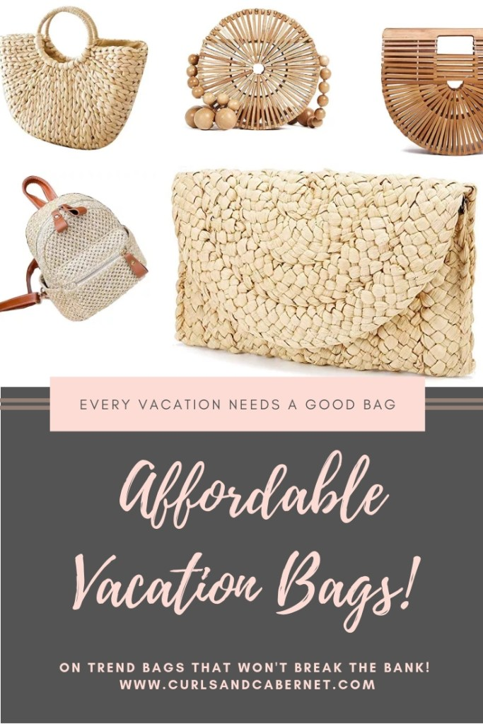 So glad i found these affordable vacation bags! Now I have one for every trip!