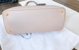 Prada Cuir Medium Cammeo Fashionphile, buying pre-loved handbags, pre-loved designer handbags